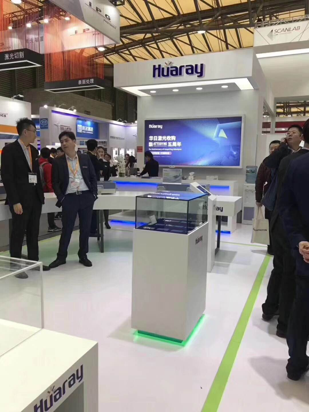 Exhibition Stand Builders In Poland : Nice booths constructed by dosen exhibition as laser world of
